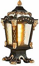 AWISAWIS Lampe Pilier Exterieur Rétro, Lampe