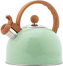 AWJ Bouilloire à thé sifflante 2.5L en Acier