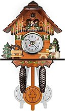 AWJ Horloge murale numérique vintage moderne,