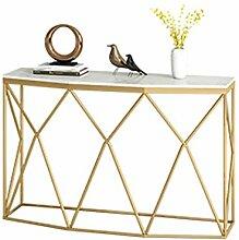 Axdwfd Table d'appoint Table Basse en marbre,