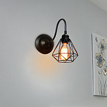 Axhup - Applique Rétro Lampe Murale E27