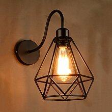 Axhup - Lampe Murale Retro Industrielle Applique