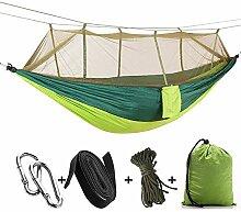 AXXMD Camping/Jardin hamac avec moustiquaire