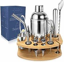 AYAOQIANG Shaker à Cocktail kit, Cocktail set
