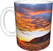 Ayers Rock Uluru Sunrise Australia Home Tasse à