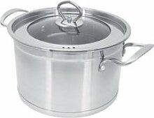 AYNEFY Cocotte Pot à soupe avec couvercle Double