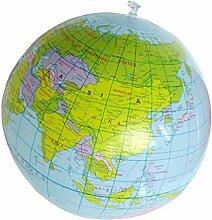 Ayrsjcl 1pc Gonflable Globe du Monde Gonflable du
