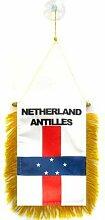 AZ FLAG Fanion Antilles néerlandaises 15x10cm -
