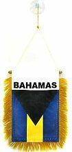 AZ FLAG Fanion Bahamas 15x10cm - Mini Drapeau