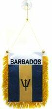 AZ FLAG Fanion Barbade 15x10cm - Mini Drapeau