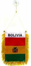 AZ FLAG Fanion Bolivie 15x10cm - Mini Drapeau