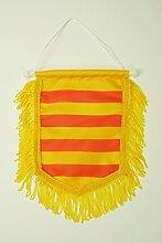 AZ FLAG Fanion Catalogne 15x10cm - Mini Drapeau
