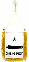 AZ FLAG Fanion Come and Take it Gonzales 15x10cm -