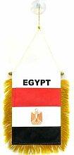 AZ FLAG Fanion Egypte 15x10cm - Mini Drapeau