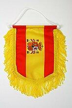 AZ FLAG Fanion Espagne 15x10cm - Mini Drapeau