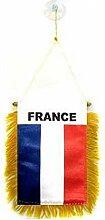 AZ FLAG Fanion France 15x10cm - Mini Drapeau