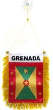 AZ FLAG Fanion Grenade 15x10cm - Mini Drapeau