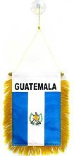 AZ FLAG Fanion Guatemala 15x10cm - Mini Drapeau