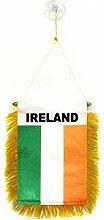 AZ FLAG Fanion Irlande 15x10cm - Mini Drapeau