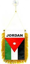 AZ FLAG Fanion Jordanie 15x10cm - Mini Drapeau