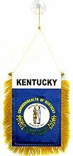 AZ FLAG Fanion Kentucky 15x10cm - Mini Drapeau