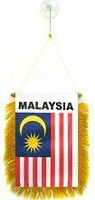 AZ FLAG Fanion Malaisie 15x10cm - Mini Drapeau