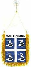 AZ FLAG Fanion Martinique 15x10cm - Mini Drapeau