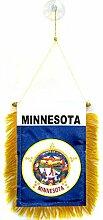 AZ FLAG Fanion Minnesota 15x10cm - Mini Drapeau