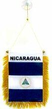 AZ FLAG Fanion Nicaragua 15x10cm - Mini Drapeau
