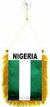AZ FLAG Fanion Nigéria 15x10cm - Mini Drapeau