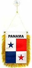 AZ FLAG Fanion Panama 15x10cm - Mini Drapeau