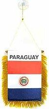 AZ FLAG Fanion Paraguay 15x10cm - Mini Drapeau