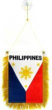 AZ FLAG Fanion Philippines 15x10cm - Mini Drapeau