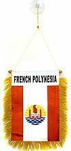 AZ FLAG Fanion Polynésie française 15x10cm -