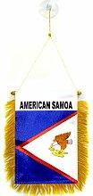 AZ FLAG Fanion Samoa américaines 15x10cm - Mini