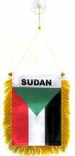 AZ FLAG Fanion Soudan 15x10cm - Mini Drapeau