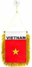 AZ FLAG Fanion Vietnam 15x10cm - Mini Drapeau