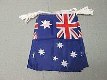 AZ FLAG Guirlande 12 mètres 20 Drapeaux Australie