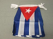 AZ FLAG Guirlande 12 mètres 20 Drapeaux Cuba