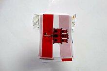 AZ FLAG Guirlande 12 mètres 20 Drapeaux Gibraltar