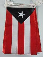 AZ FLAG Guirlande 12 mètres 20 Drapeaux Porto