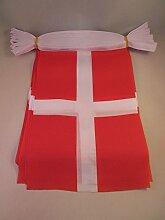 AZ FLAG Guirlande 12 mètres 20 Drapeaux Savoie