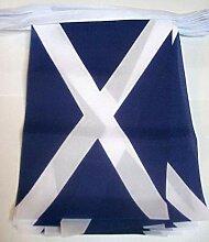 AZ FLAG Guirlande 3 mètres 10 Drapeaux Ecosse