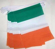 AZ FLAG Guirlande 3 mètres 10 Drapeaux Irlande