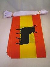AZ Flag Guirlande, Multicolore