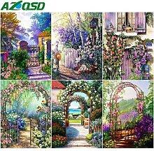 AZQSD – Kits de peinture diamant mosaïque de