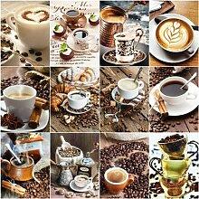 AZQSD – peinture diamant, tasse à café,