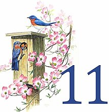 Azul'Decor35 Numérotation de Maison en