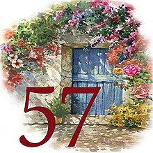 Azul'Decor35 Plaque numéro de Rue