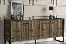 Azura Home Design - Buffet LOST 4 portes